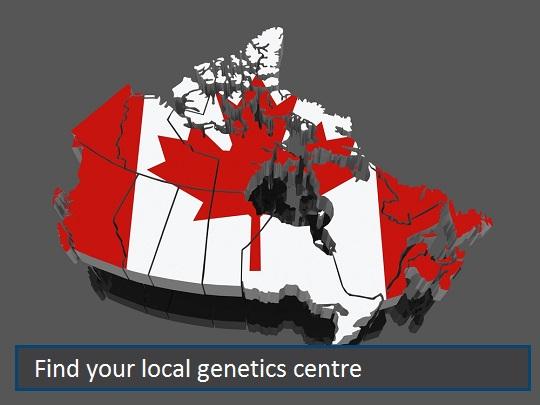 Genetics Centres Across Canada