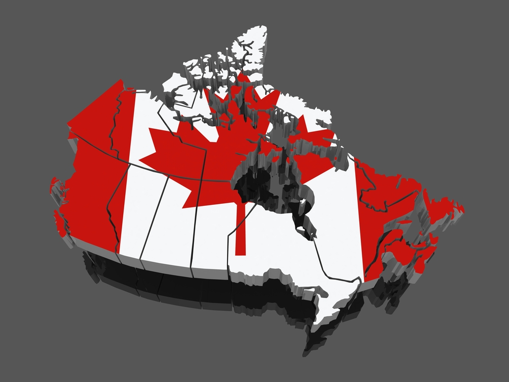 Map of Canada - March 2014